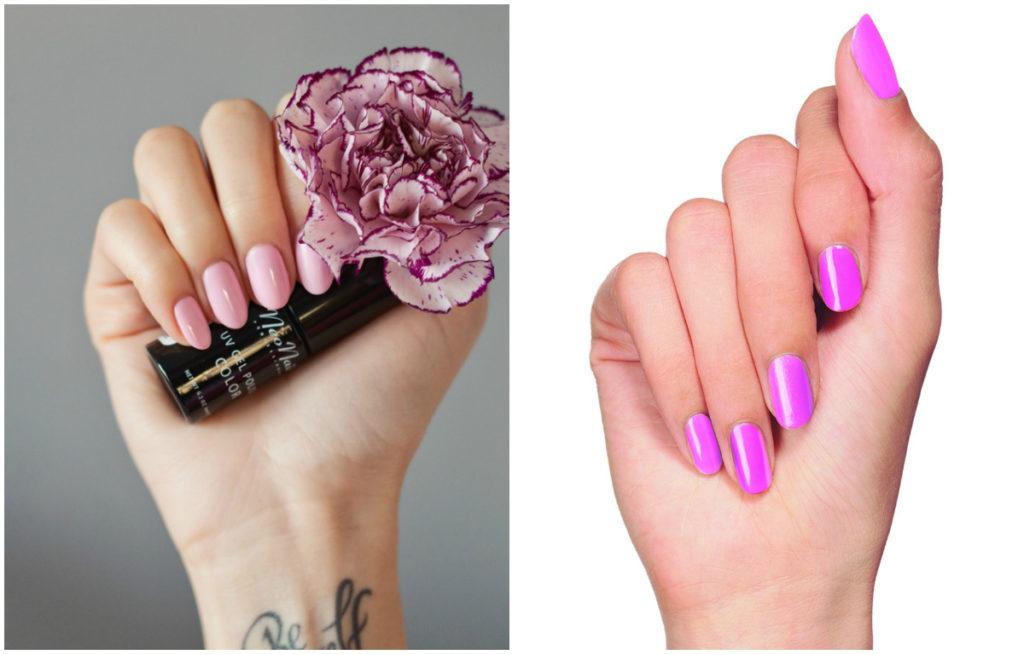 Роскошные розовые ногти 2018