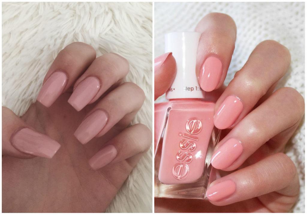 нежные и своеобразные розовые ногти 2018