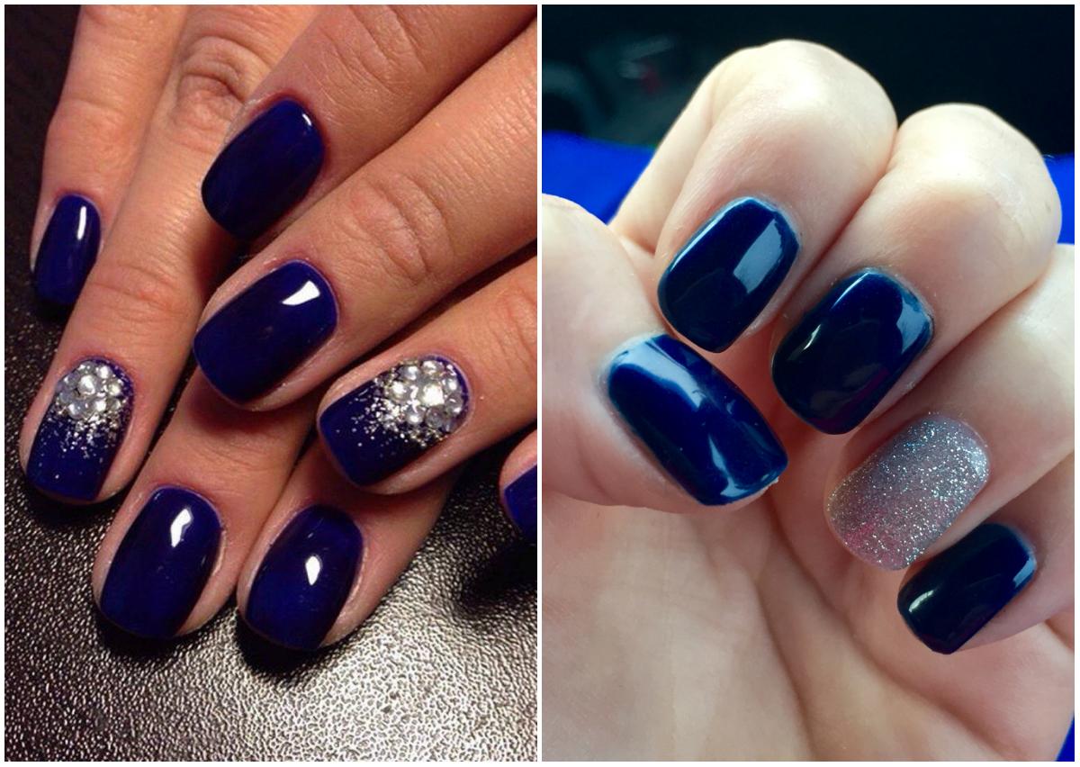 Синие ногти: создание потрясающего праздничного 31