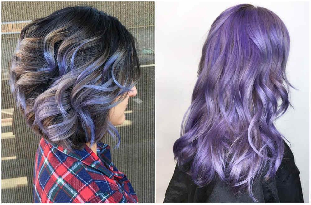 Короткие и длинные стрижки на волнистые волосы разных цвет