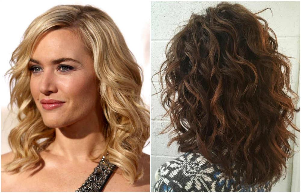 Прекрасные волнистые волосы 2018 средней длины со стрижкой боб