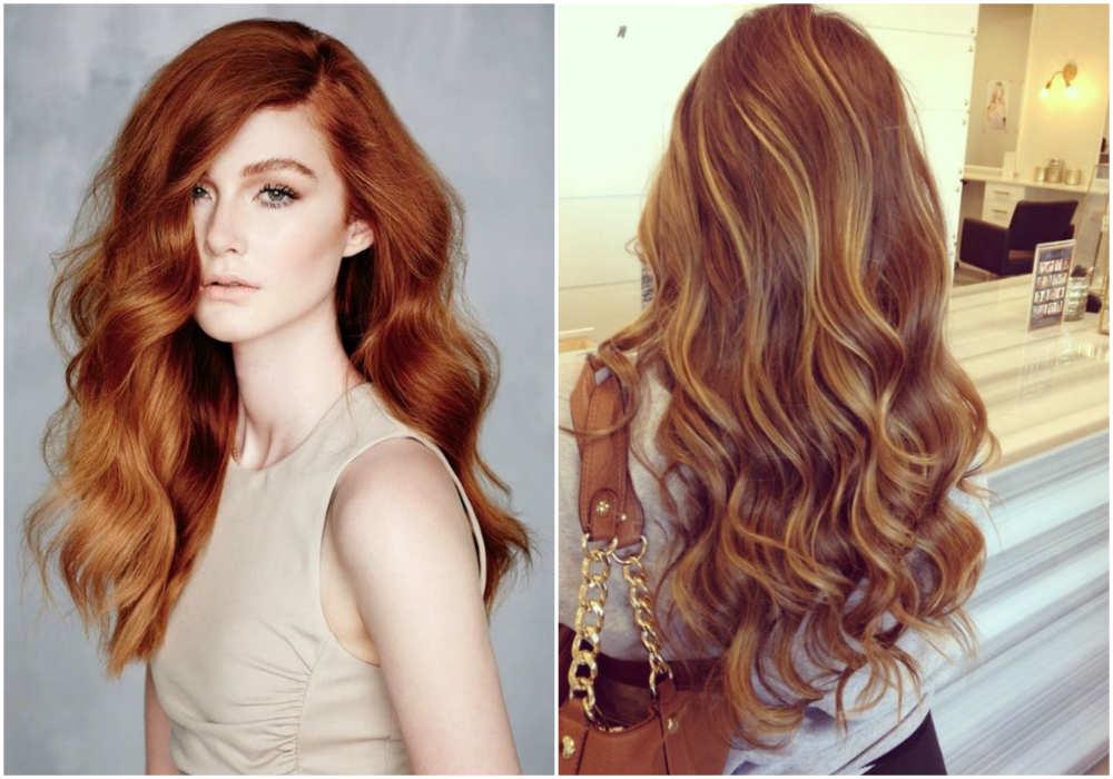 Стрижки на волнистые волосы с разным и интересным окрашиванием