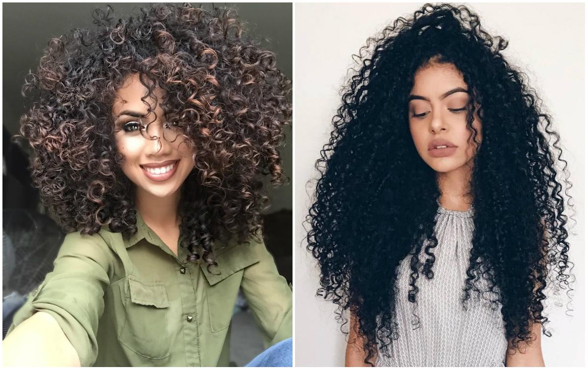Самые крутые и песподобные естественные кудрявые волосы 2018