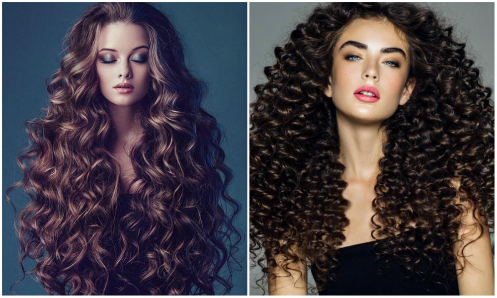 Длинные, шелковистые и самые стильные кудрявые волосы 2018