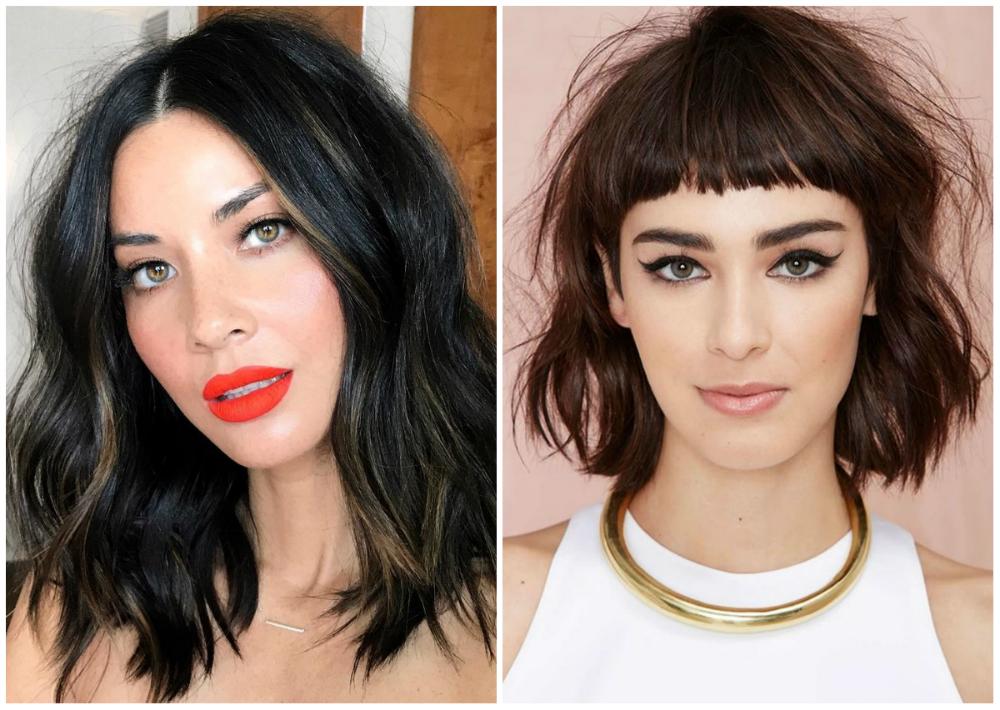 Стильные и модные стрижки 2020 для волос средей и короткой длин