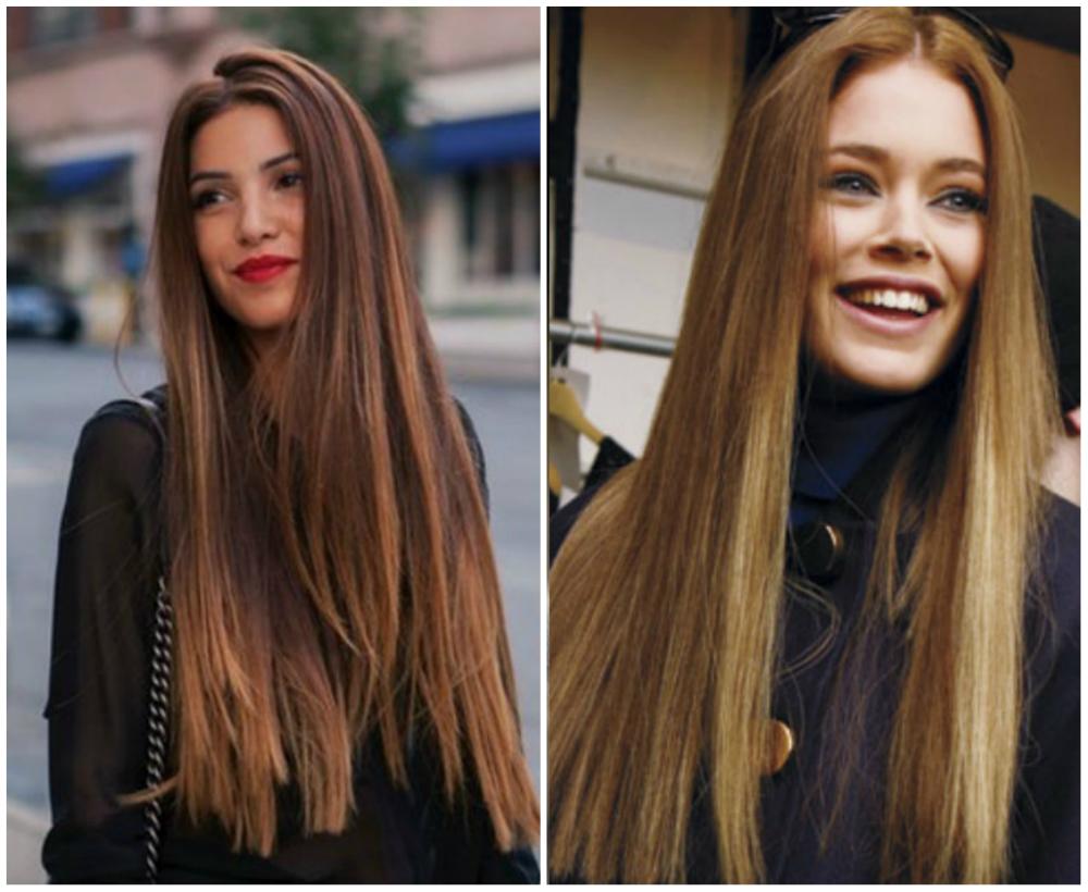 Модные стрижки 2018 для длинных и супер прямых волос