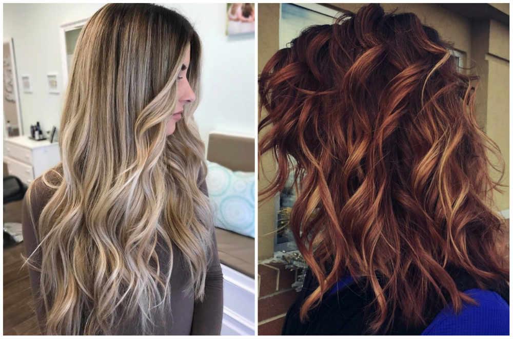 Актуальное и модное окрашивание волос с эффектом балаяжа и шатуша