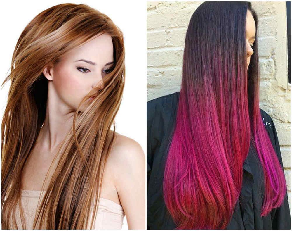 Модное и стильное окрашивание длинных волос 2020 для модниц
