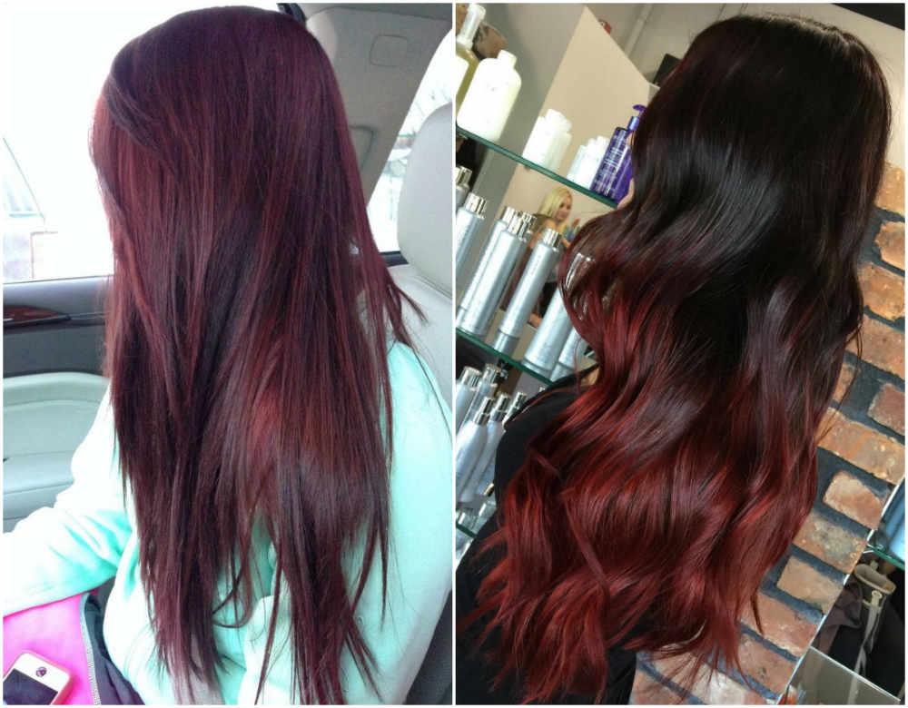 Ультрамодное и фешенабельное, модное окрашивание на длинные волосы