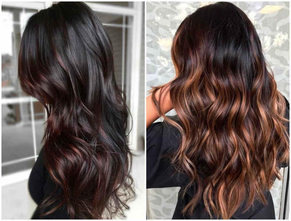 Изящное и бесподобное окрашивание длинных волос 2020