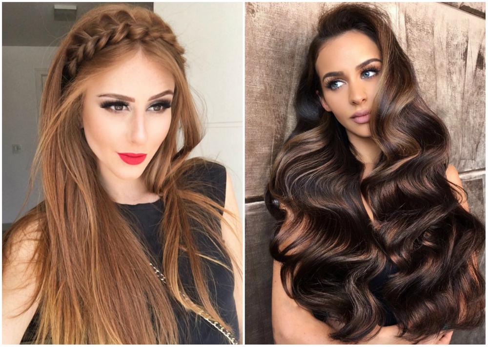 Стильные, разновидные и креативные прически на длинные волосы 2018