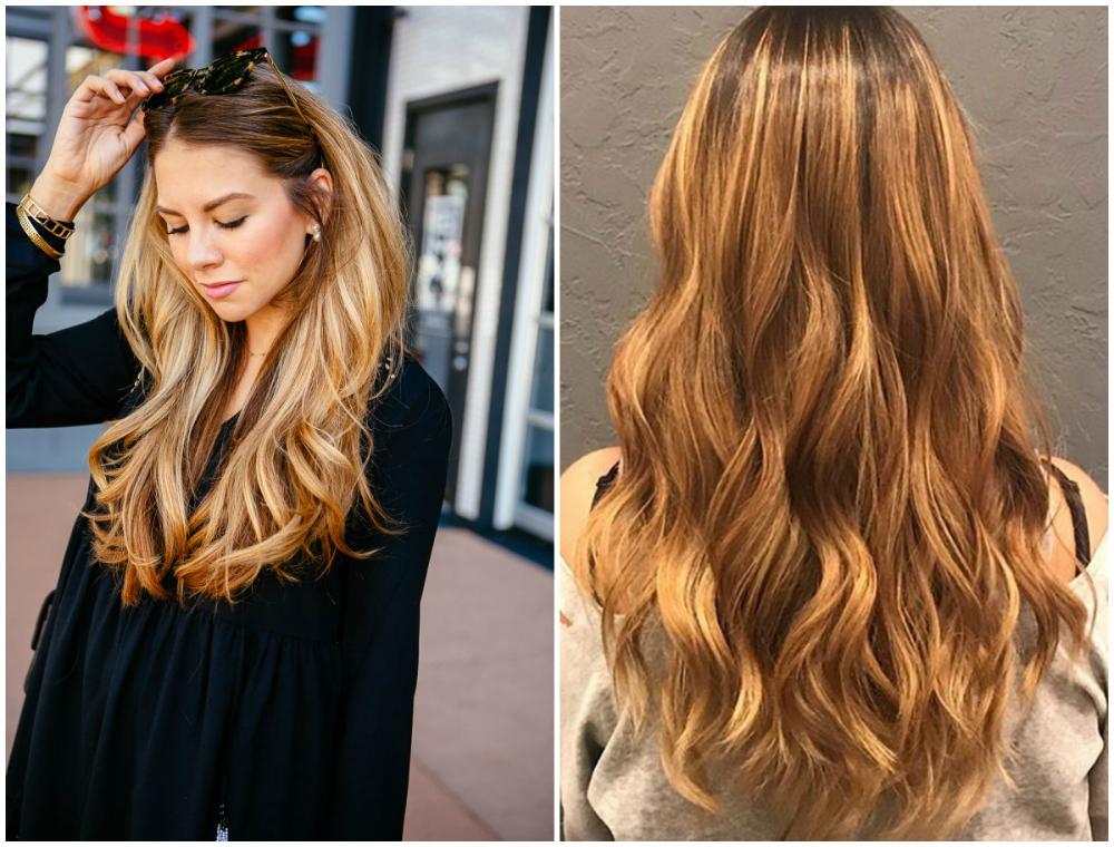 Окрашивание светлых волос в медово-блондовый цвет