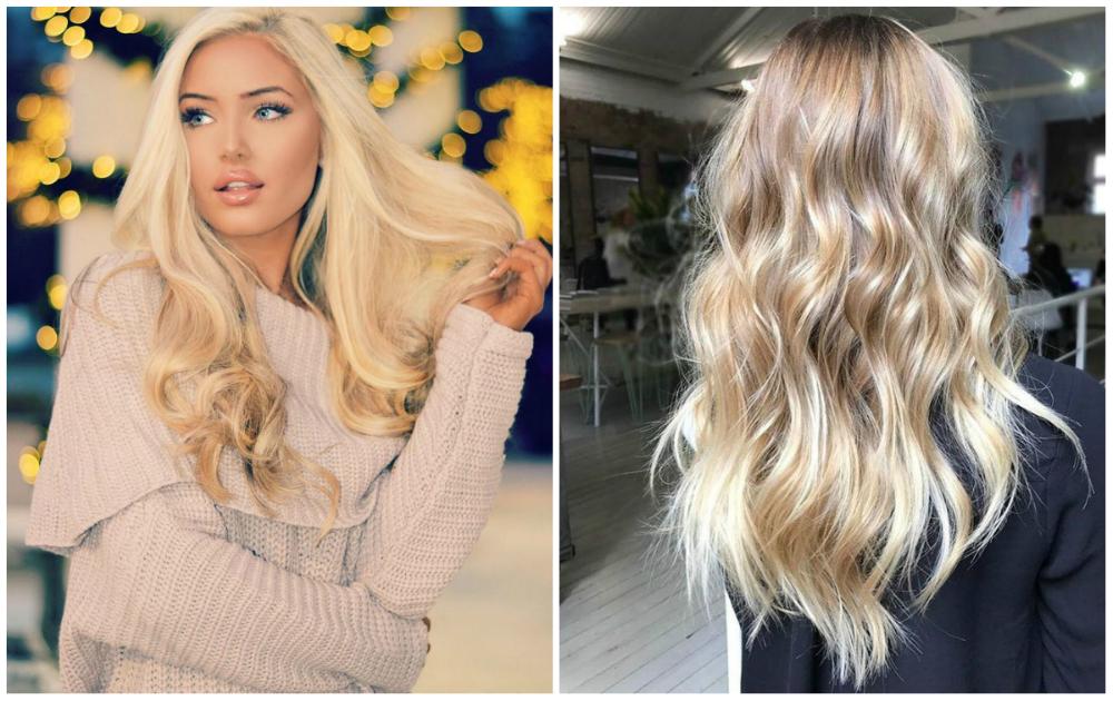 Окрашивание светлых волос естественными и натуральными оттенками