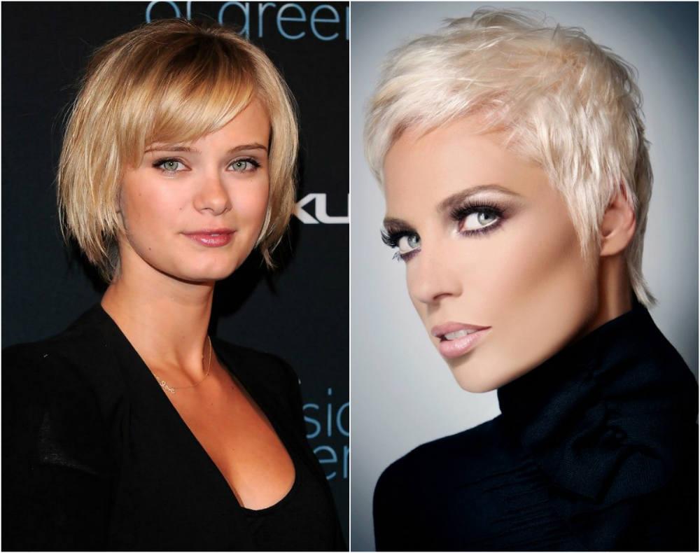 Короткие и ильтрамодные стрижки для тонких волос 2020