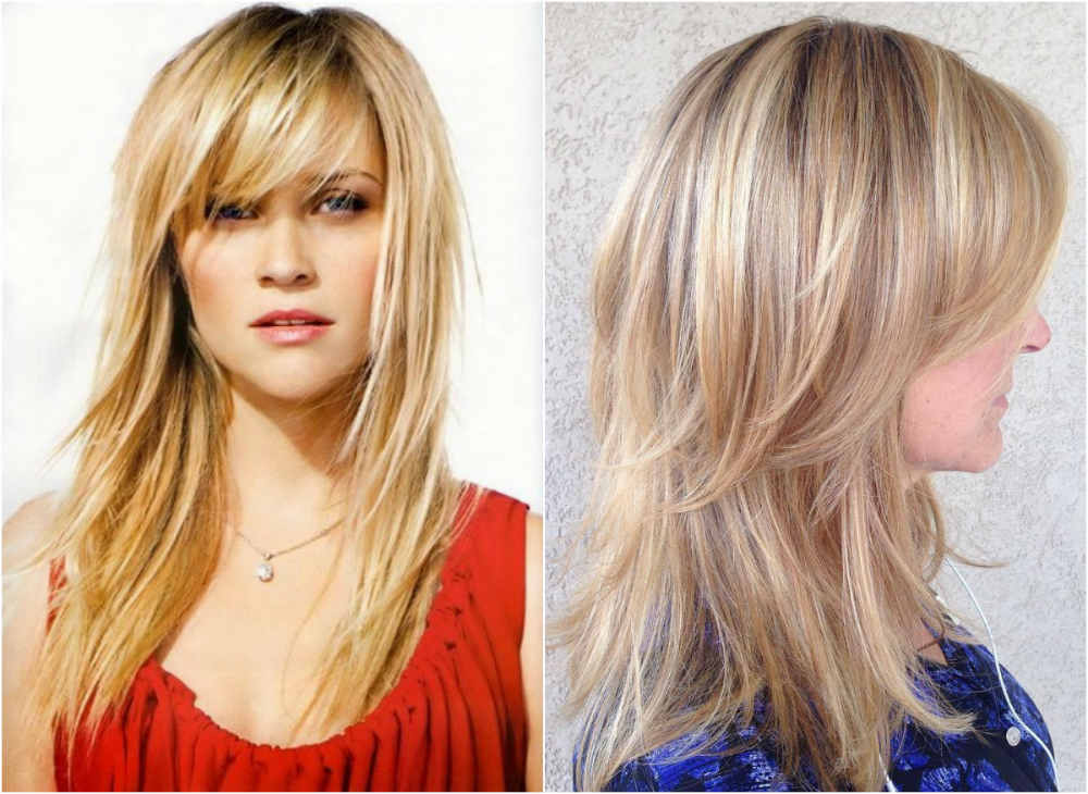 Стрижки для тонких волос 2020 со множественными слоями