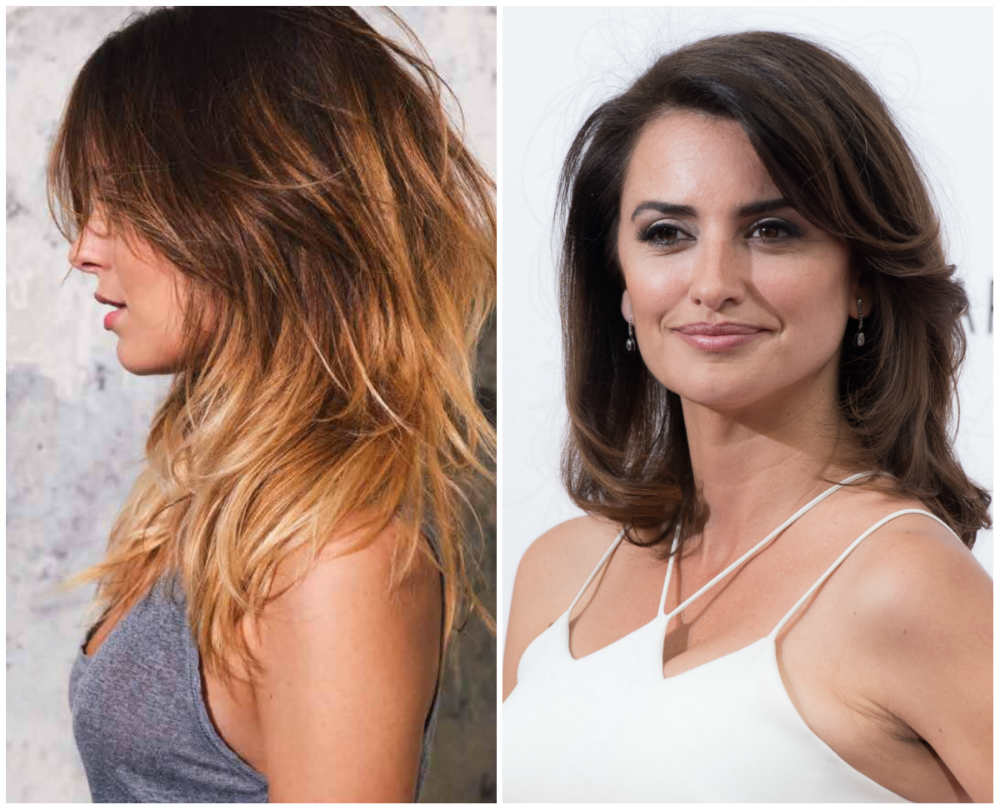 Стрижки каскад на средние волосы 2018 года, последние тренды и тенденции