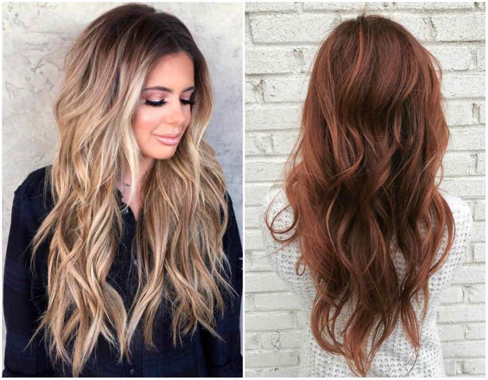 Новейшие и модные стрижки на длинные волосы 2018 для модниц