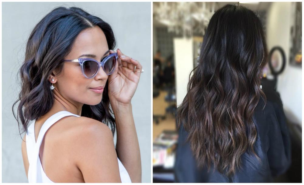 Стрижки на темные волосы с разной длиной и интересными идеями