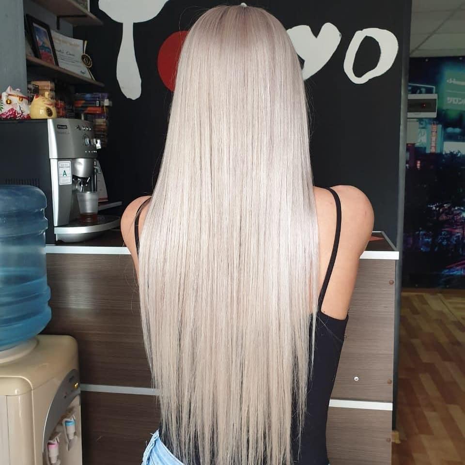 Окрашивание-длинных-волос-2020;-модные-цвета-и-оттенки