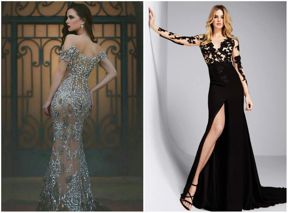 Вечерние платья 2018; красивые и модные вечерние платья