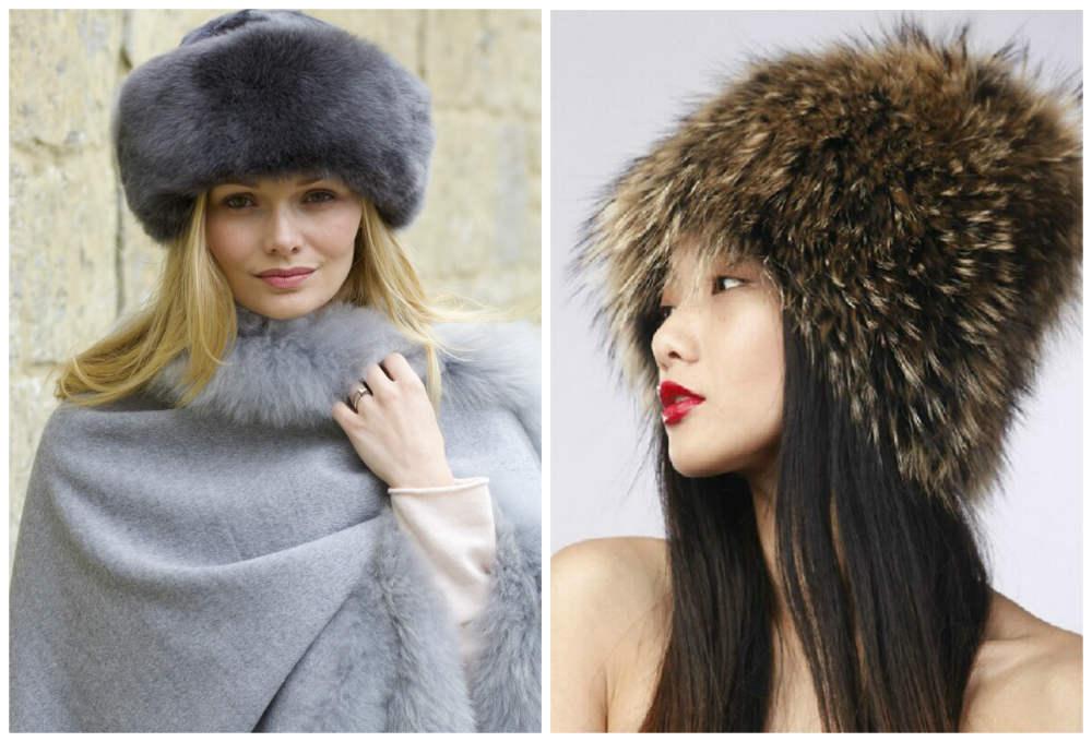 Меховые женские головные уборы, лучшие тренды и тенденции