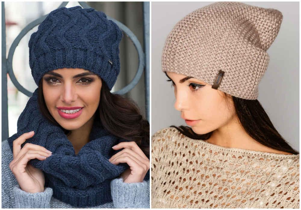 Модные и красивые женские головные уборы, удобные шапки для модниц