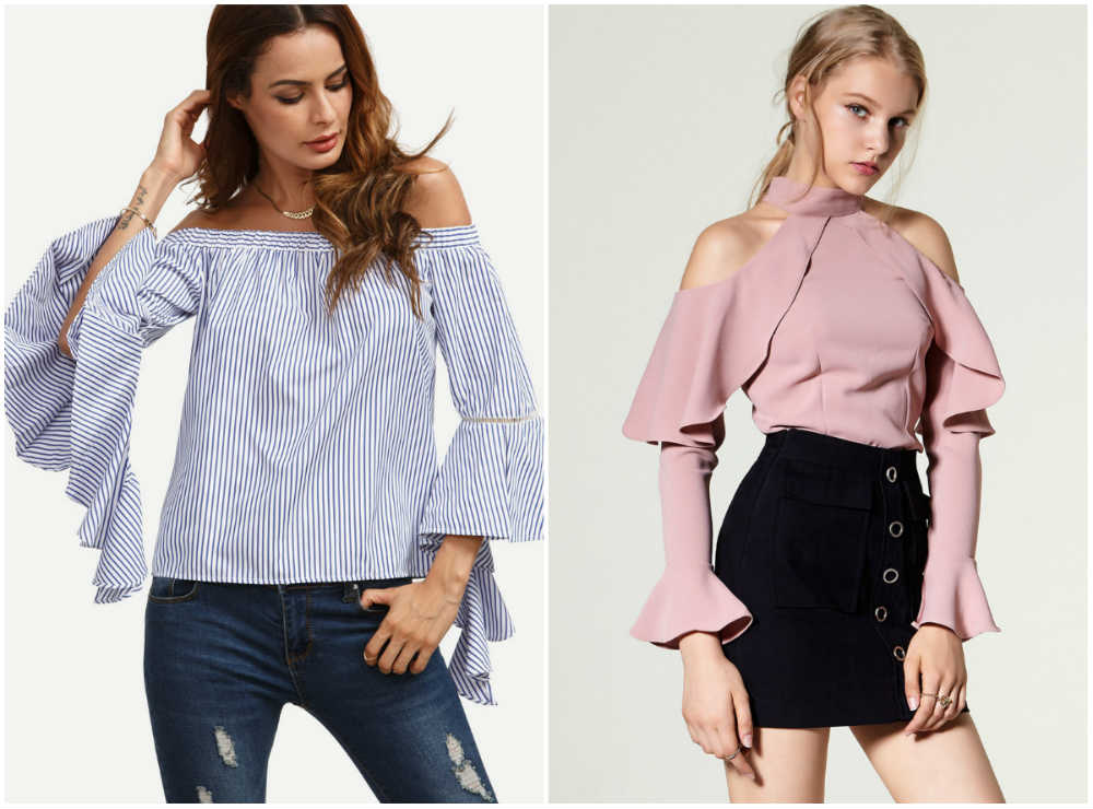 Стильные, женсвенные и трендовы модные блузки 2017 года