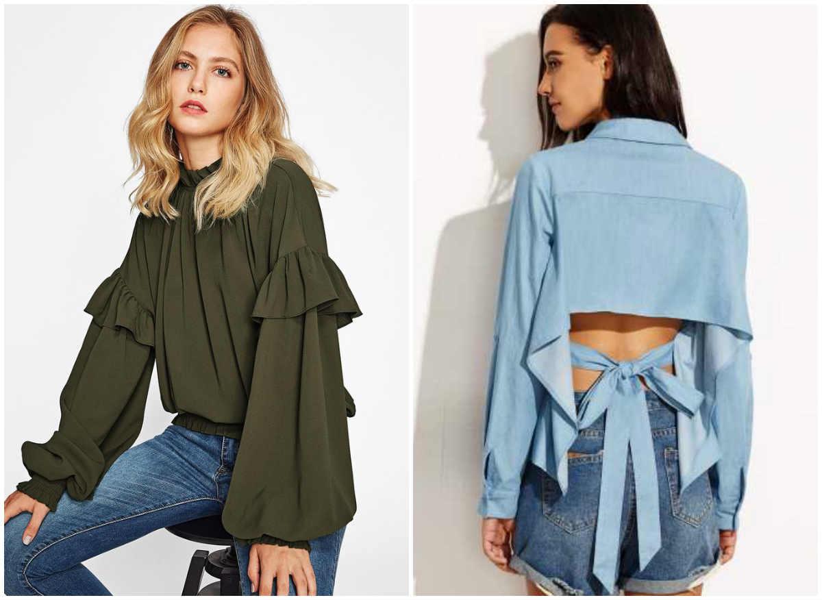 Модные блузки 2018 года, лучшие тренды и тенднеции блузок