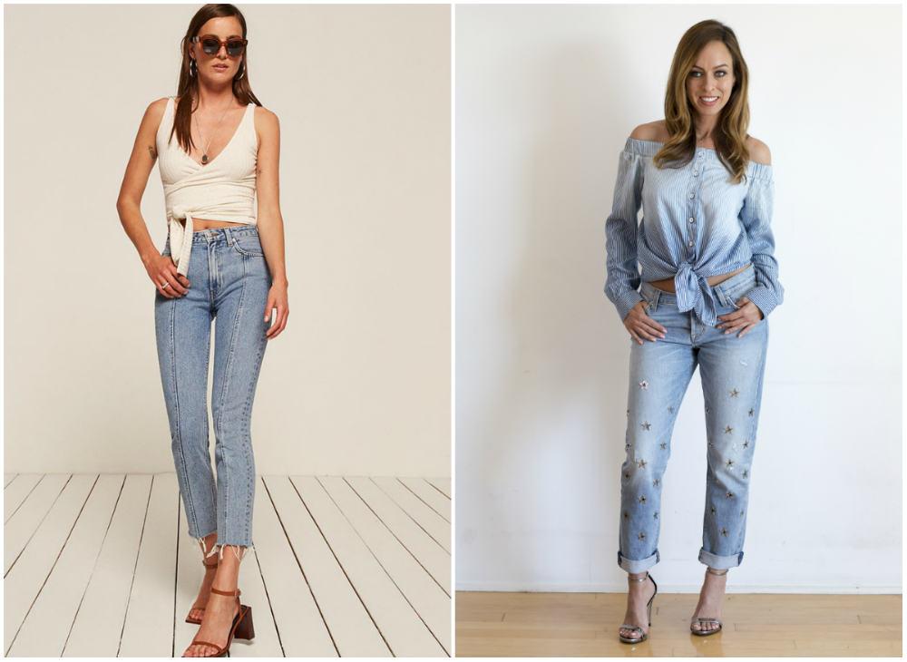 Самые стильные и модные джинсы 2018 года для современных модниц