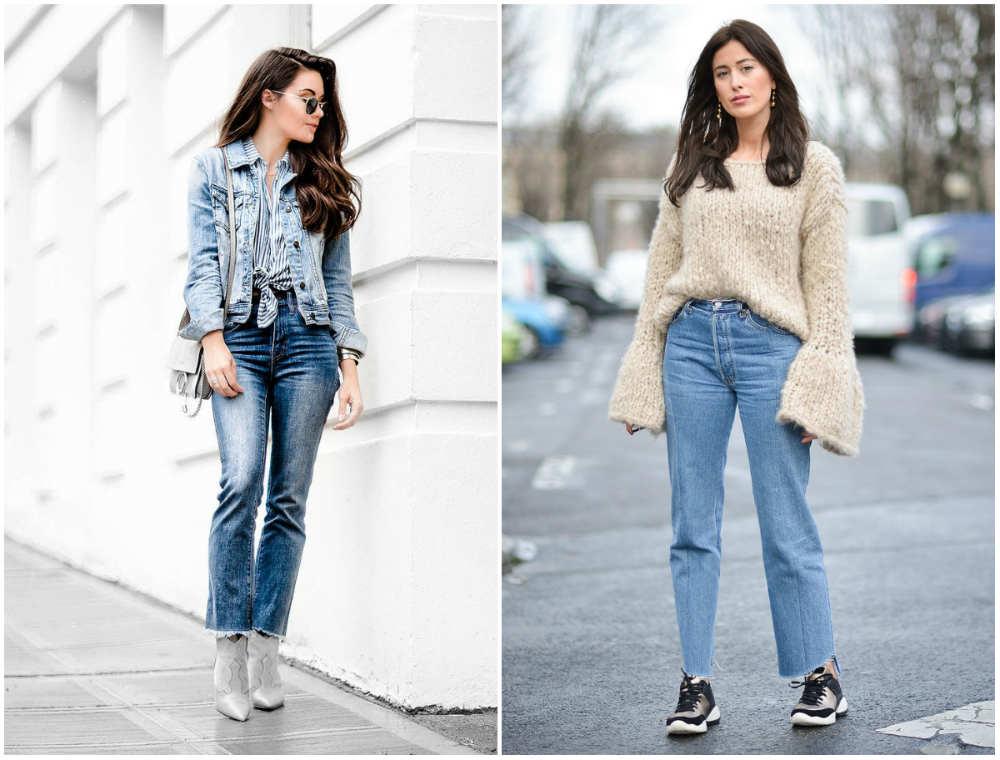 Фешенебельные, красивые и модные джинсы 2018 для женщин и девушек