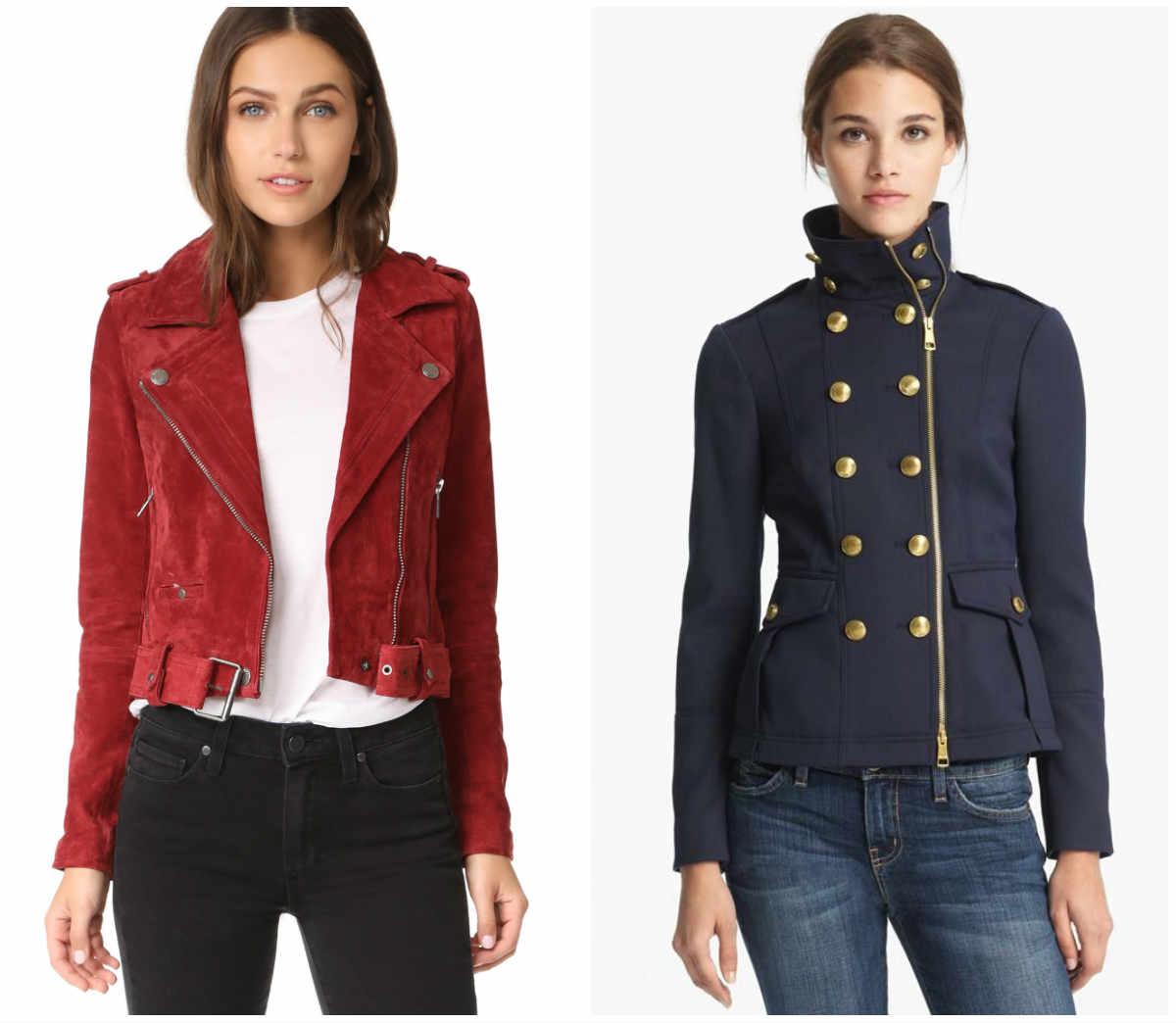 Стильные женские куртки, последние тренды и тенденции моды
