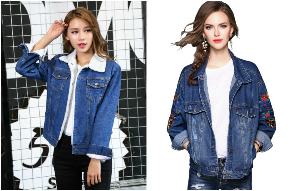 Модные куртки 2018 года, популярная и трендвая джинсовая куртка