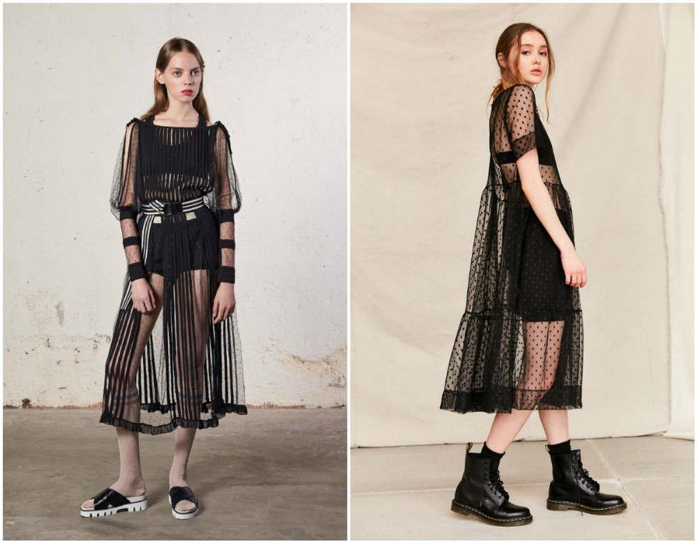 Прозрачные женские модные платья 2020 года для модниц
