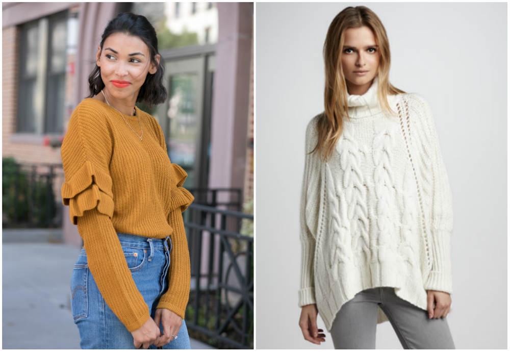Самые красивые и фешенебельные модные свитера 2020 года для модниц