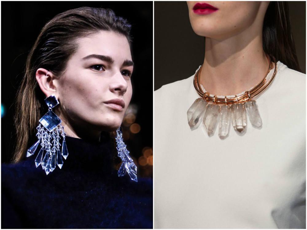 Эксклюзивные модные украшения 2018 года с блестящими кристаллами