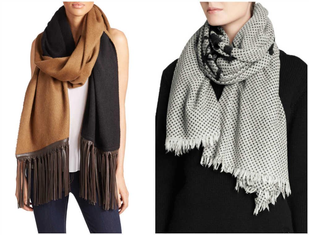 Самые стильные, красивые и модные шарфы 2020 года для модниц