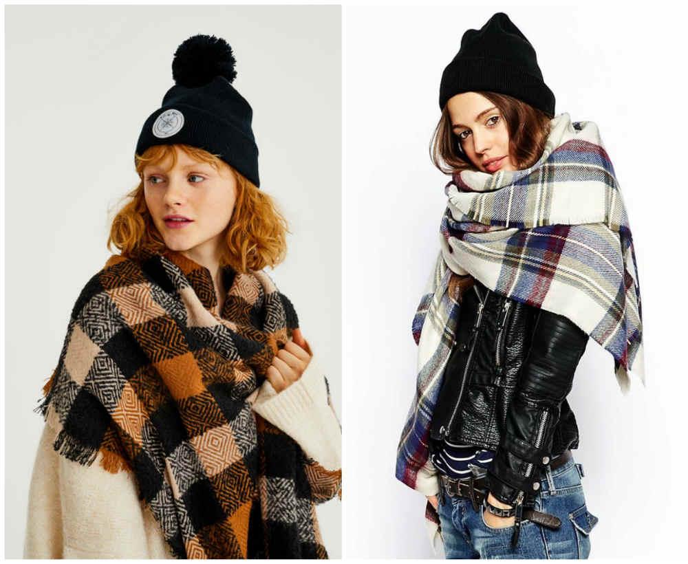 Вневременные и традиционные модные шарфы 2020 года в клетку