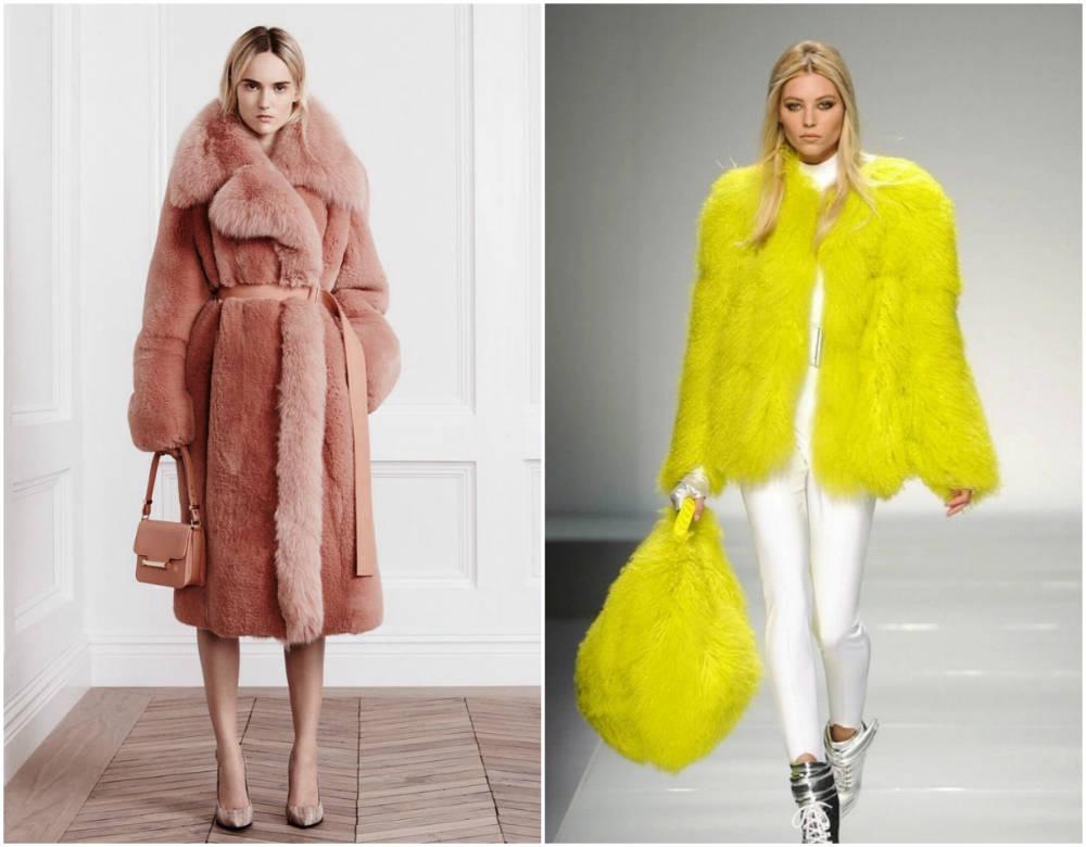 Модные шубы 2018; трендовые и модные модели шуб
