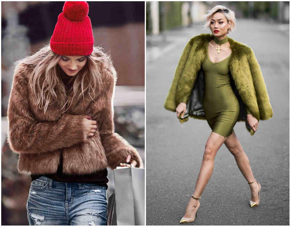 Стильные и модные модели шуб, сочетание с разными стилями и образами