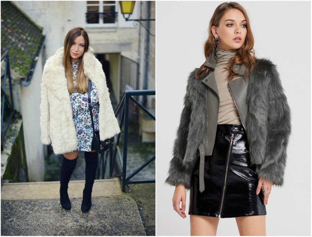 Модные модели шуб, традиционное и стильное сочетание меха и кожи