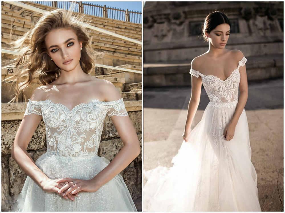 Неповторимые и естественные модные свадебные платья 2018 года