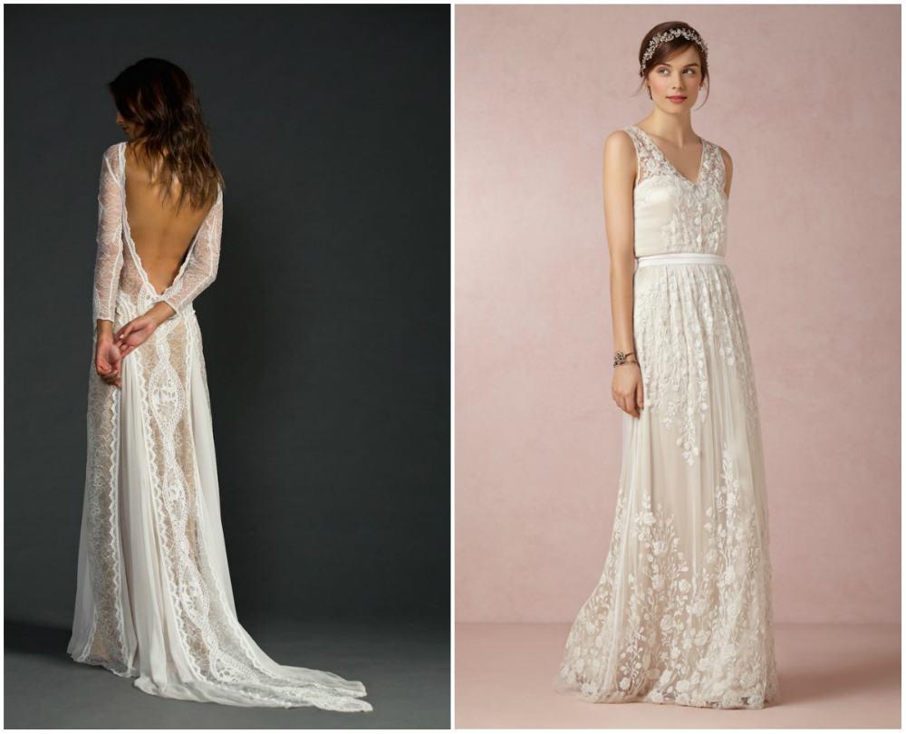 Красивые, неповторимые свадебные платья 2018 с разными тканями