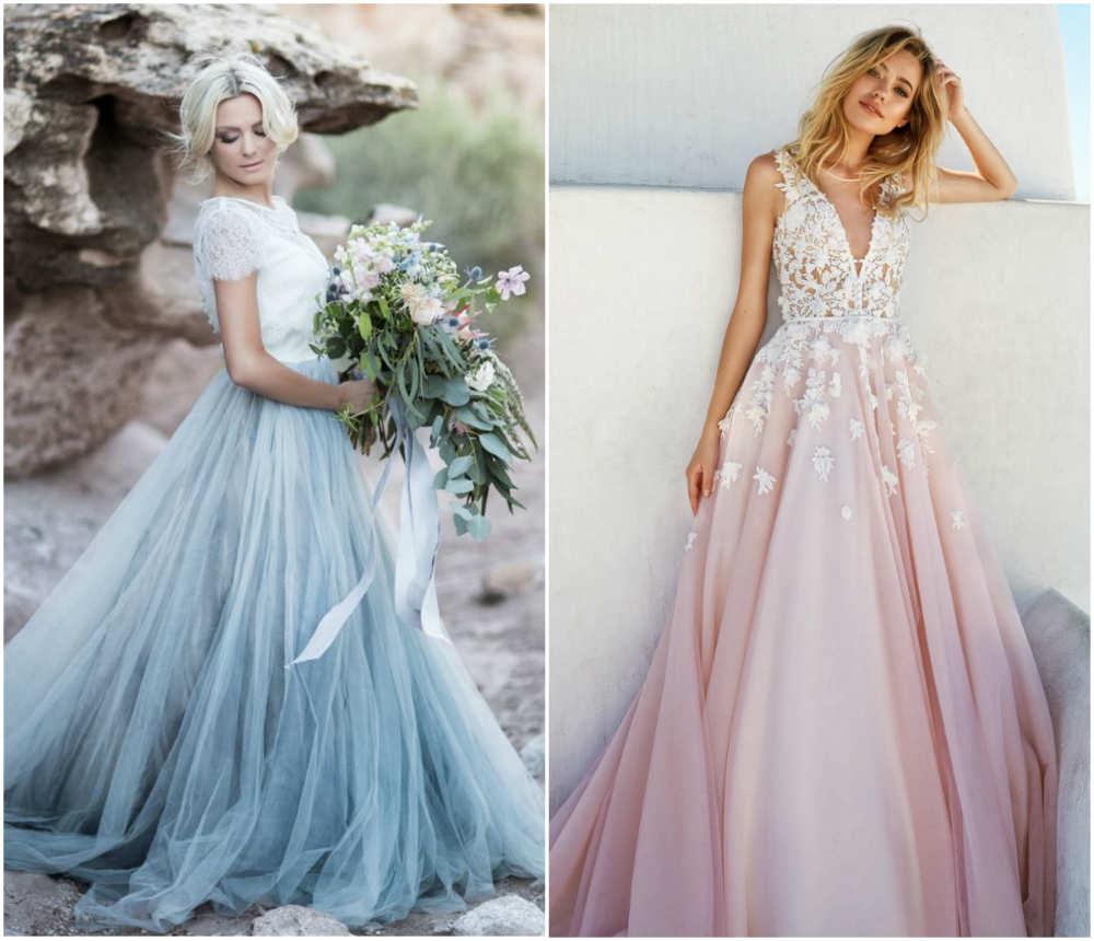 Красивейшие, модные свадебные платья для униклаьных невест