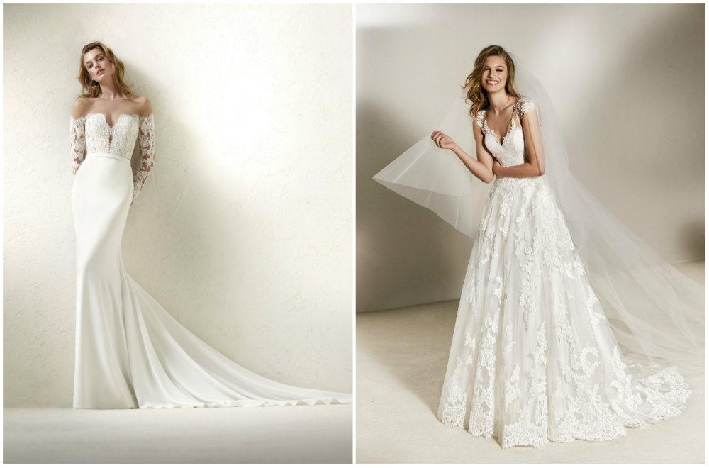 Утонченные модные свадебные платья модного бренда Проновиас