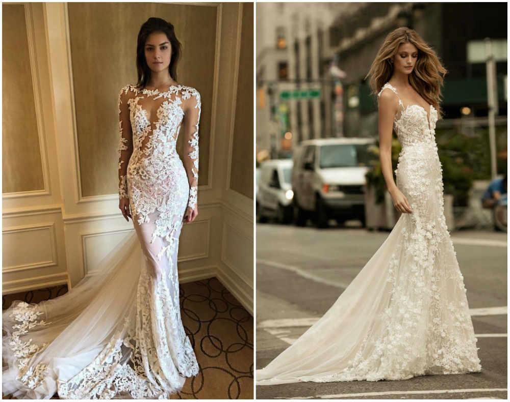 Стильные и модные свадебные платья известного бренда Berta Bridal