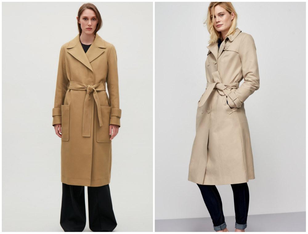 Ультрастильные и модные пальто 2018 года в стиле классического тренча