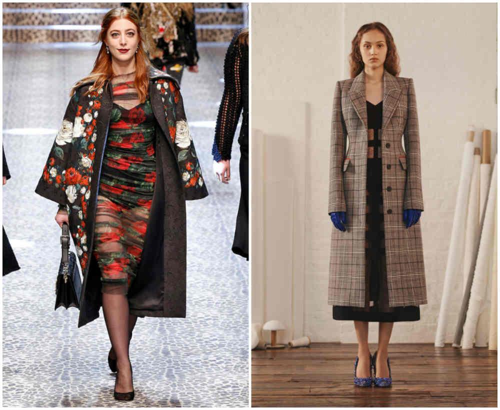 Шикарные и винтажные модные пальто 2018 года разных брендов и дизайнеров