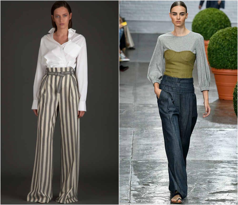 Стильные, трендовые и модные тенденции брюк 2018 года для модниц