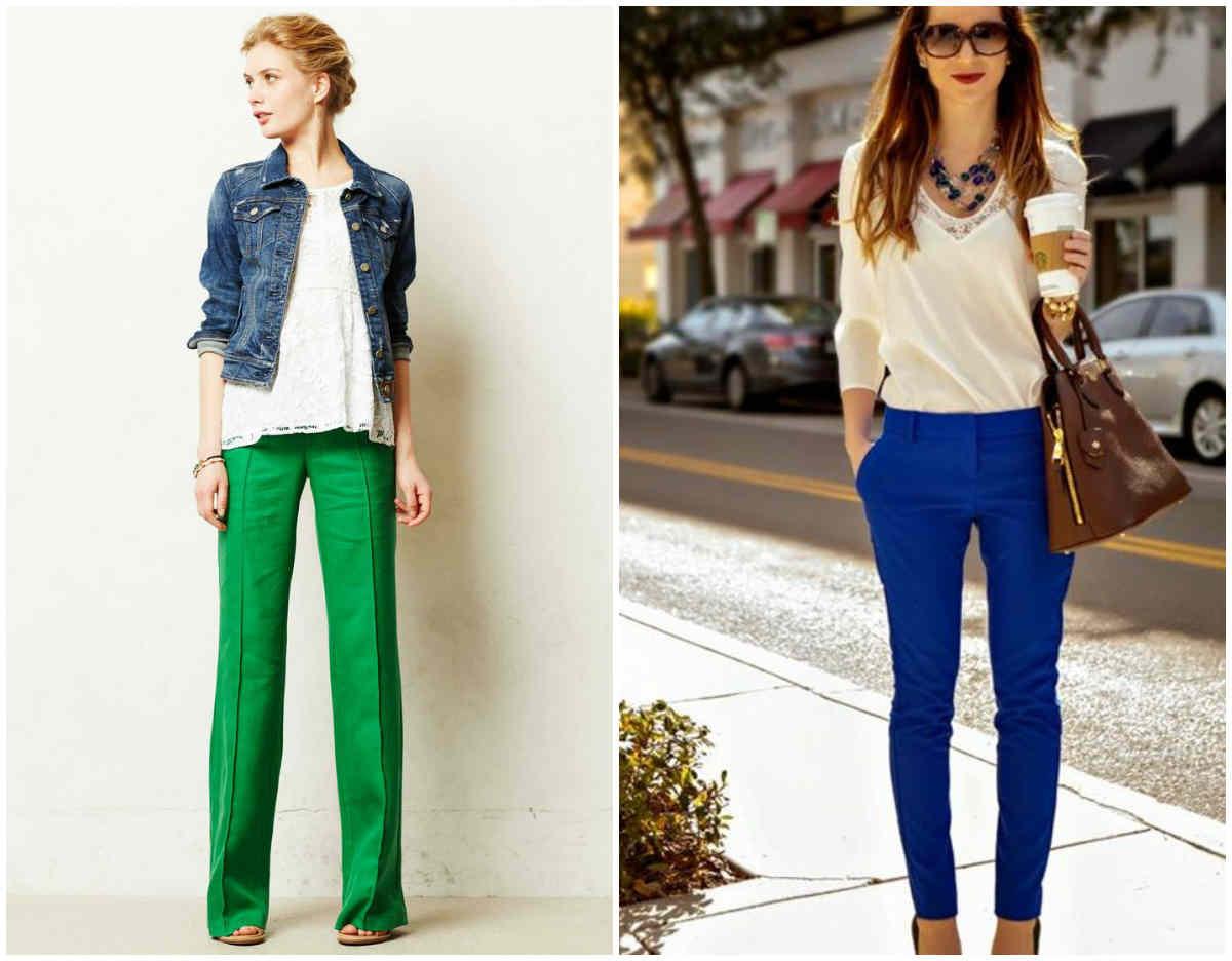 Модные женские брюки для всех сезонов года, лучшие идеи и варианты