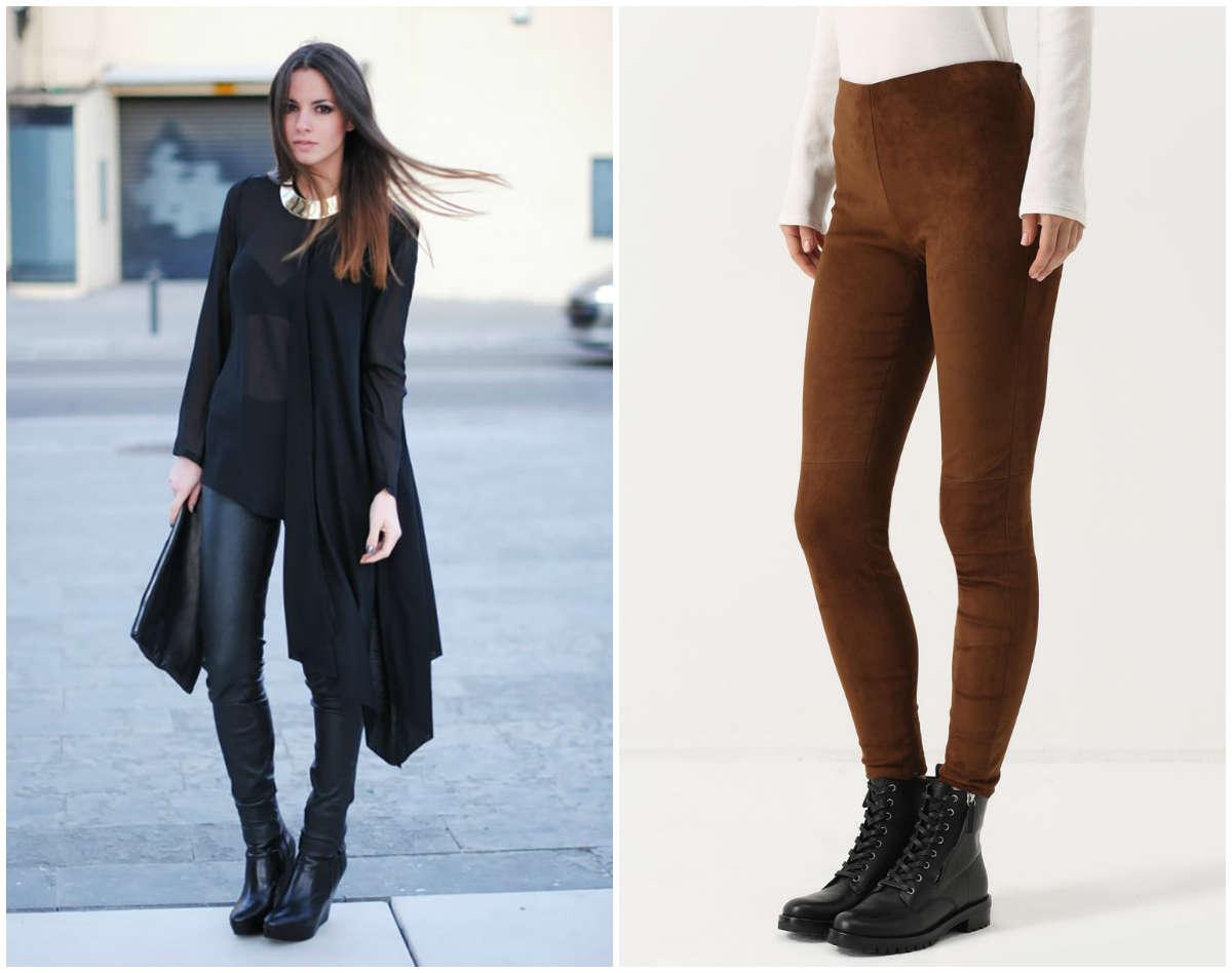 Модные женские брюки, полностью черные и замсевые варианты